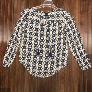 Women's Lucky Brand Long Sleeve Blouse